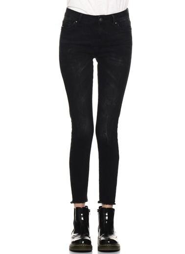Vero Moda Jean Pantolon Siyah